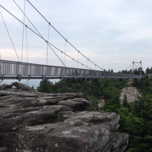 Bridge at Grandfather Mountain