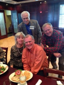 Don McDaniel, John Reichard, Paul Quinn, Barbara Conrad (the lady who brings us all together)