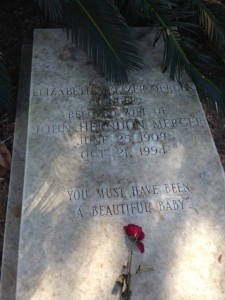 Elizabeth Mercer Grave