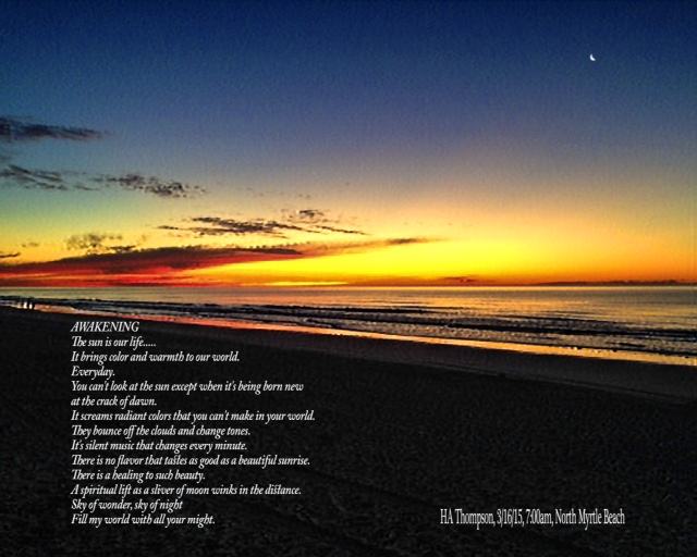 HAT'S AWAKENING SUNRISE - 031615 - J.A