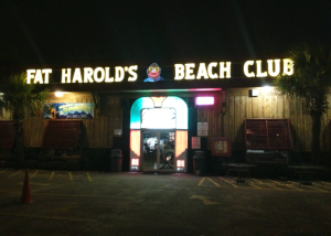 Fat Harold's famous dance club in North Myrtle Beach. Best club in the world for shagging!