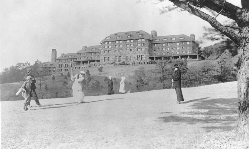 Grove Park Inn, Asheville, NC, past
