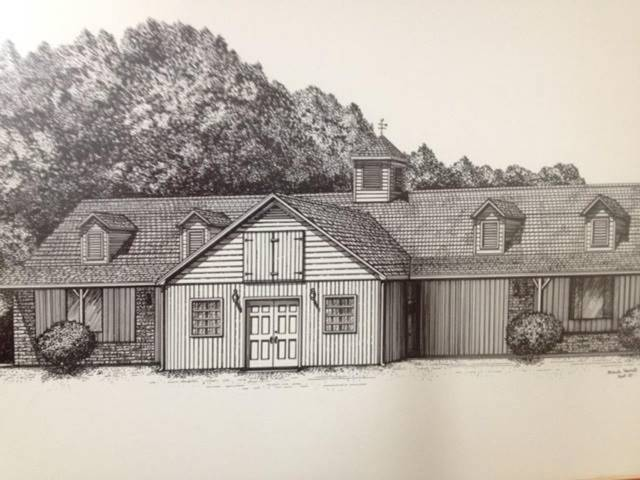 Drawing of The Ranch House