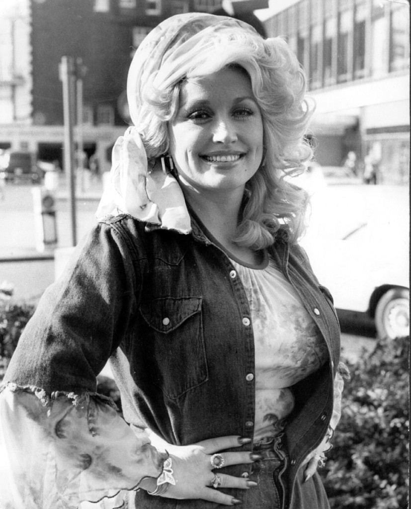 Dolly Parton, London 1977